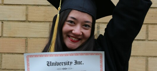 University Inc. — Nei takk!
