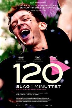 120 slag i minuttet
