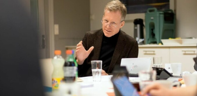 Rektor Curt Rice, OsloMet. Foto: Ketil Blom Haugstulen