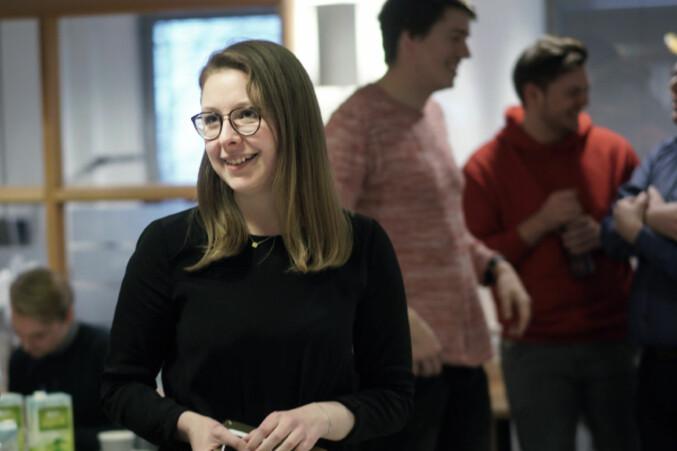 Nestleder i Norsk studentorganisasjon, Anne Helene Bakke, sier det er vanskelig å jobbe på ettårsbasis opp mot rektoratet som sitter i fire. Foto: Ketil Blom Haugstulen