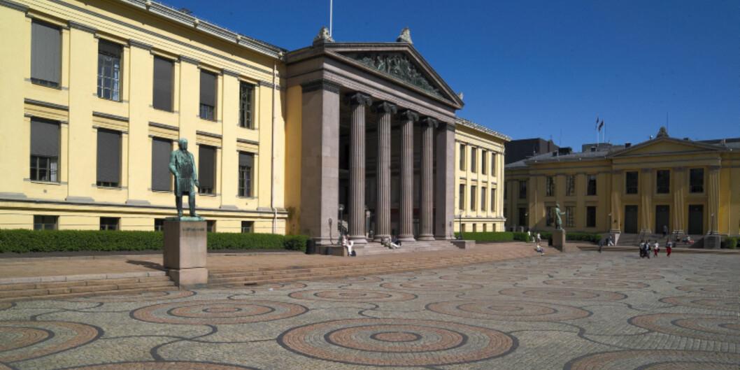 Universitetsplassen i Oslo. Foto: Atle Skogstad