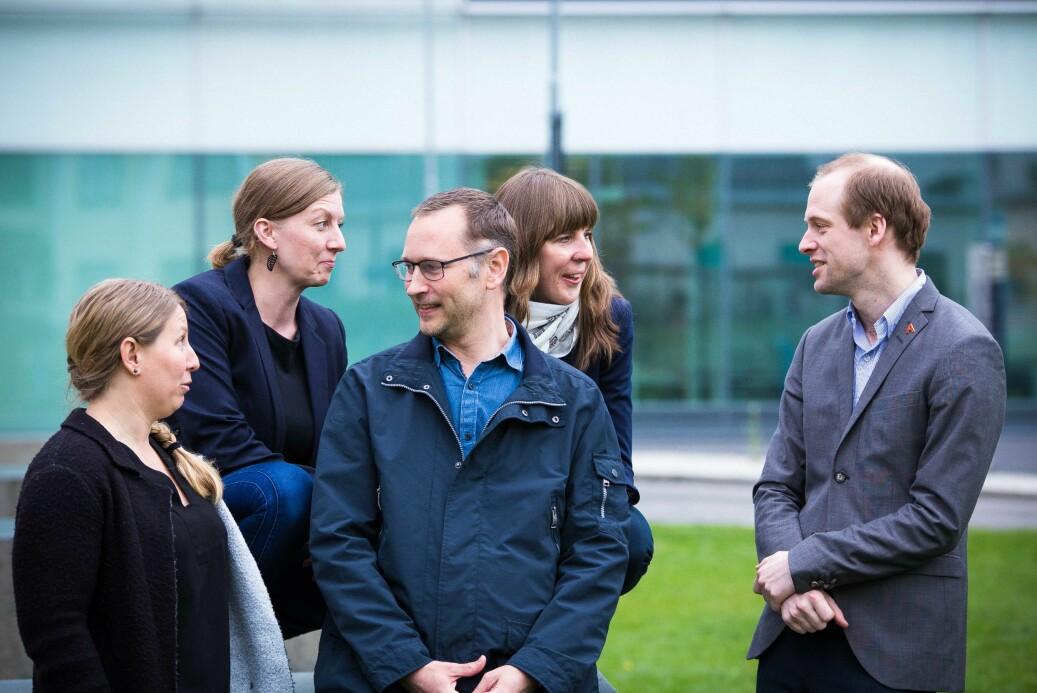 Akademiet for yngre forskere (her ved styret) og Letten foundation går sammen for å dele ut Lettenprisen. Foto: Siri Øverland Eriksen