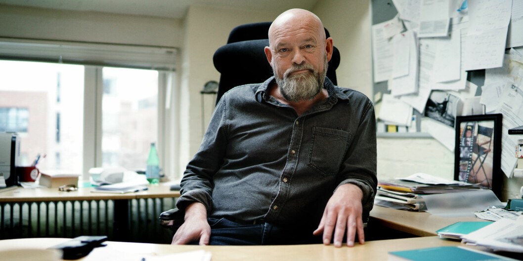 Oddgeir Osland, var såvidt i gang med sin tredje periode som senterleder på Senter for profesjonsstudier på OsloMet. I dag er han ansatt som dekan på fakultet for samfunnsvitenskap på OsloMet. Foto: Ketil Blom Haugstulen