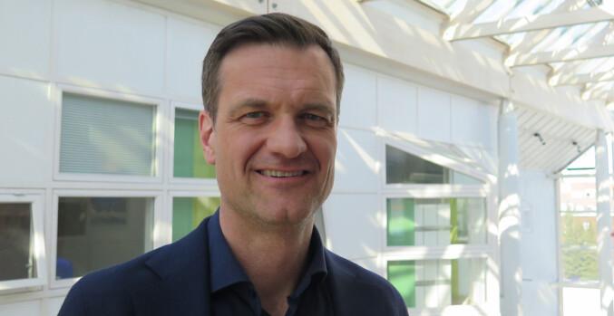 Universitetsdirektør Jørgen Fossland ved UiT.