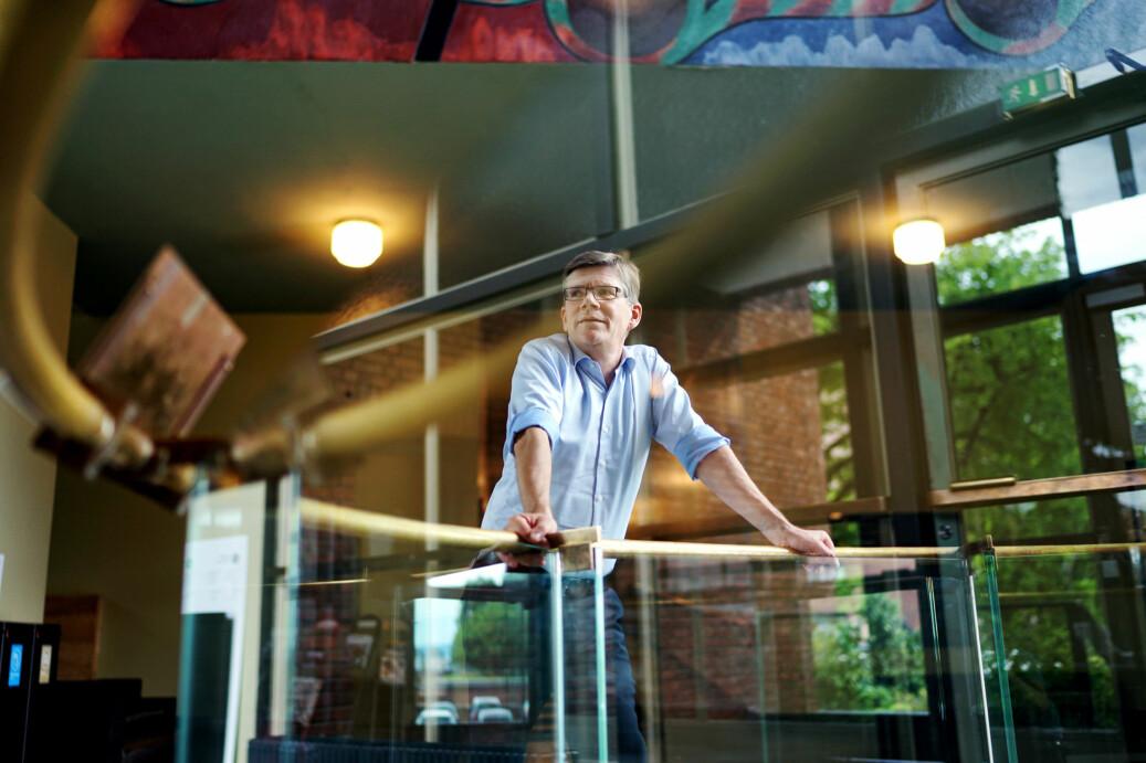 Rektor på Universitetet i Oslo, Svein Stølen, mener at argumenter i debatt om toppforskning ikke er faktabasert. Nå krever han internasjonal vurdering for å få fakta på bordet. Foto: Ketil Blom Haugstulen