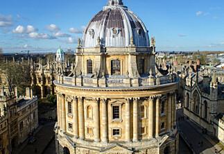 Rammet av universitetsstreik i Storbritannia