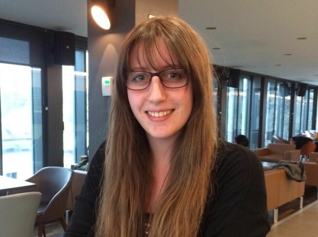 Rammet av streik: Anine Olsen Englund.