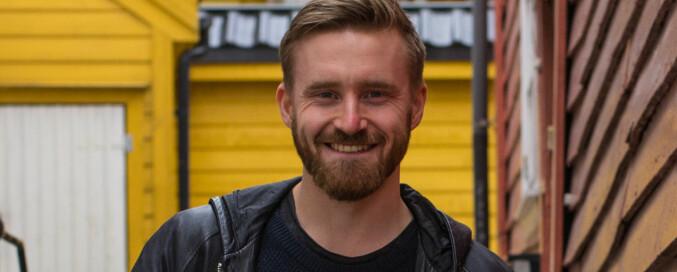 Eigil Hole Lønning stiller til nestleder og fag- og forskningspolitisk ansvarlig i NSO. Foto: Kristian Blystad Houge