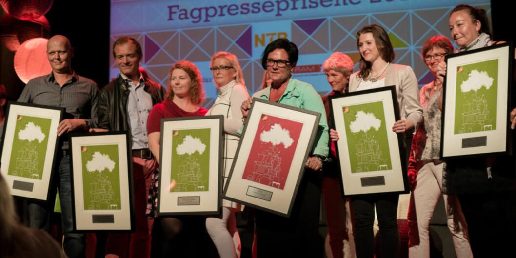 Khrono vant Fagpresseprisen i 2014 etter kun åtte måneder på lufta. Foto: NTB scanpix