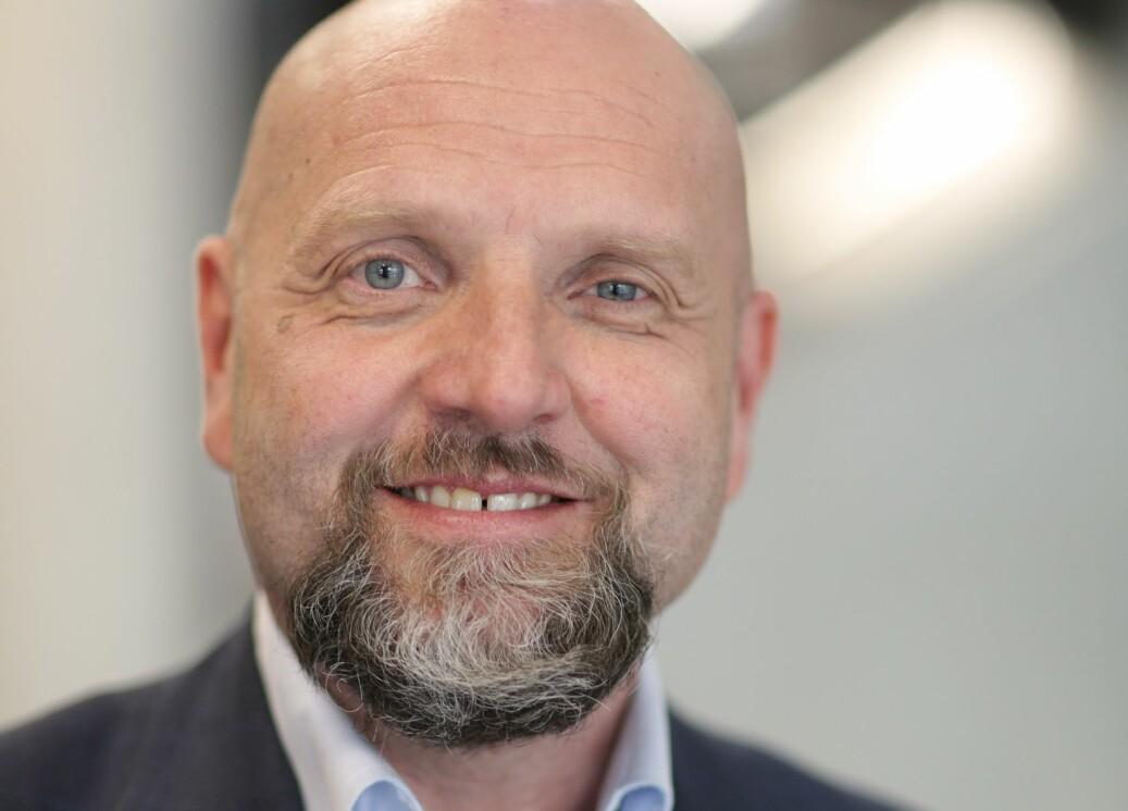 Tor Asmund Godal har jobbet i TV 2 i mange år og blir nå kommunikasjonsdirektør ved Universitetet i Bergen. Foto: Erik Edland/TV2