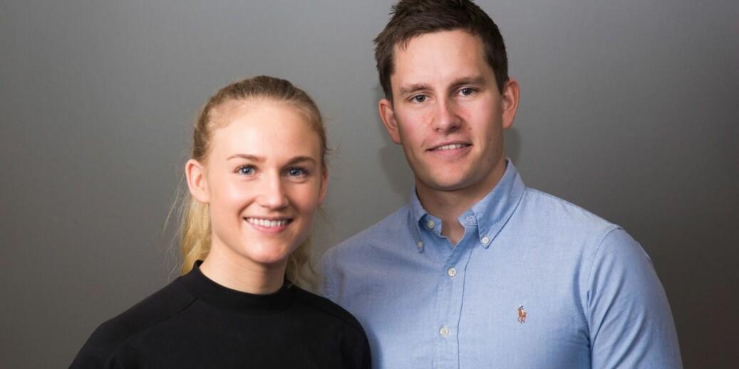Prosjektleder Solveig Christensen og påtroppende daglig leder, Bendik Fon, har fått 1 million i støtte fra Forskningsrådet. Foto: Forskningsrådet