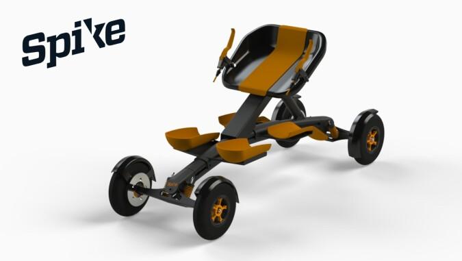 Exero er nominert for sports-kjelken Spike, for personer med funksjonsnedsettelser. Illustrasjon: Exero