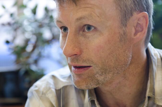 Rektor på idrettshøgskolen, Lars Tore Ronglan. Foto: Andreas B. Johansen/NIH