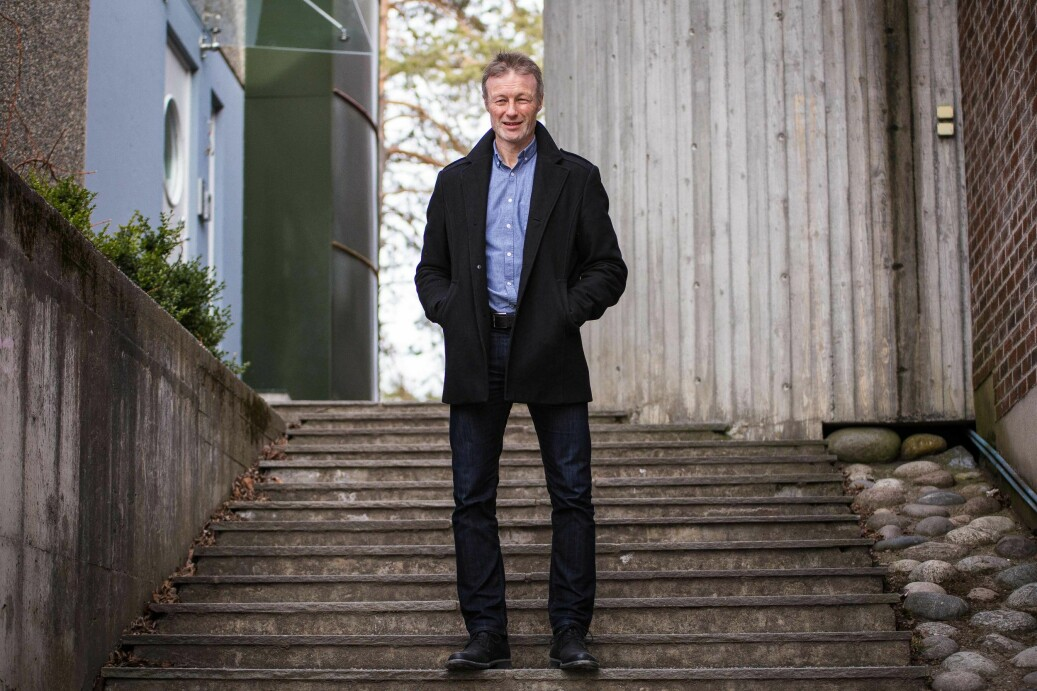 Rektor på idrettshøgskolen, Lars Tore Ronglan. Foto: Siri Øverland Eriksen