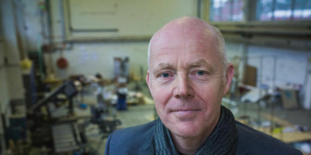 Rektor Ole Gustavsen søker en ny periode i stillingen ved Arkitektur- og designhøgskolen i Oslo. Foto: Siri Øverland Eriksen