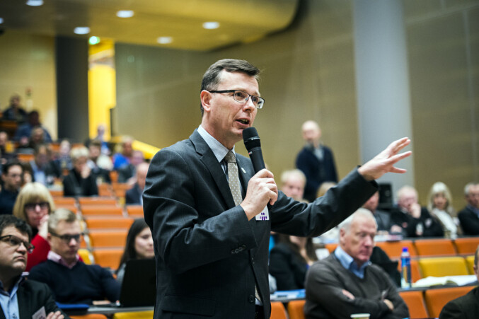 UiB-rektor Dag Rune Olsen vil ikke at forskning.no skal endre profil. Foto: Cicilie S. Andersen<minabraege@hotmail.com></minabraege@hotmail.com>