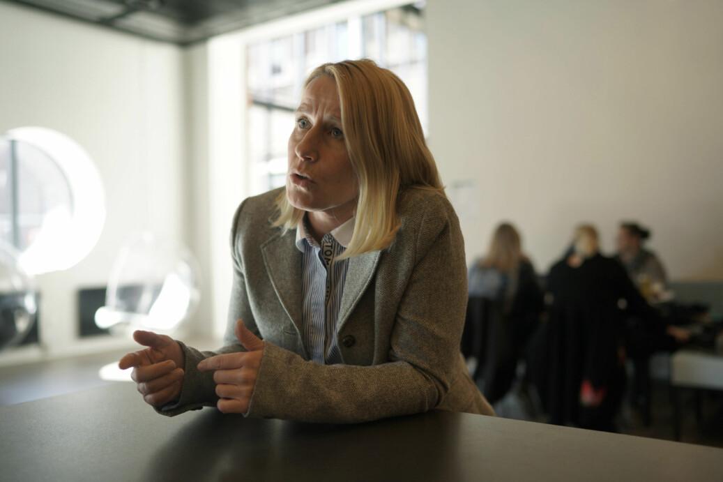 Tidligere viserektor ved NTNU, Marianne Synnes (H), er skeptisk til forslaget fra eget parti om å gjøre alle læremidler gratis tilgjengelige. Foto: Ketil Blom Haugstulen
