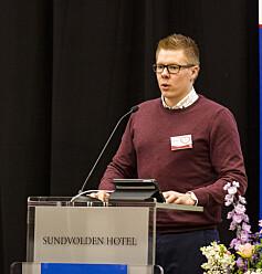 Ruben Amble Hirsti. Foto: Andreas Solbakken/Oclin