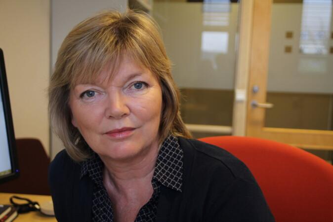 Charlotte Haug har vært redaktør for Tidsskrift for den norske legeforening. Foto: Elin Fugelsnes