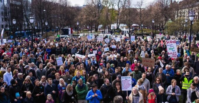 Vi ble lurt av March for Science