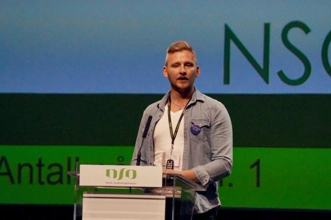 Gjermund Kvernmo Langset fra NTNU i Ålesund ble valgt til sentralstyret.
