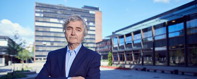 Petter Aaslestad, Forskerforbundet. Foto: Erik Norrud
