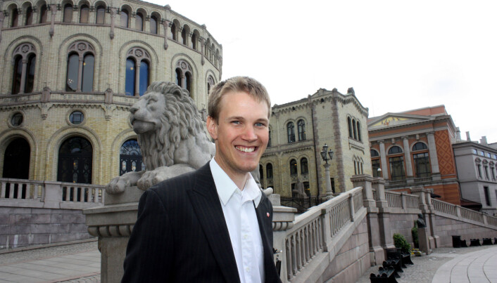 Torstein Tvedt Solberg . Foto: Bernt Sønvisen
