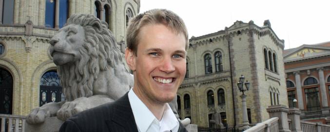 Torstein Tvedt Solberg, Ap. Foto: Bernt Sønvisen