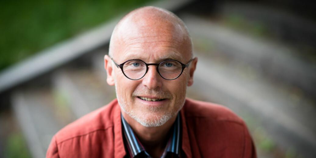 Direktør ved Universitetsbiblioteket OsloMet, Lars Egeland, synes det er litt vemodig at læringssenter-navnet forsvinner.