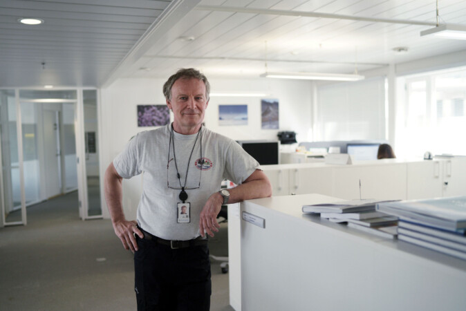 Hovedverneombud i Forskningsrådet, Ian Gjertz.