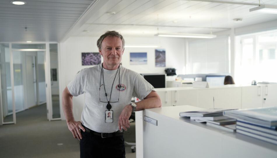 Hovedverneombud i Forskningsrådet, Ian Gjertz, sier at ledelsen har fulgt boka, men at det har blitt merarbeid på de ansatte. Foto: Ketil Blom Haugstulen