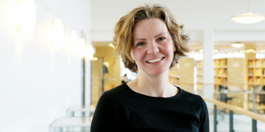 Professor i digital kultur, Jill Walker Rettberg, ønskjer ei tettare samarbeid med informatikk og informasjonsvitenskap på UiB. Foto: Njord V. Svendsen