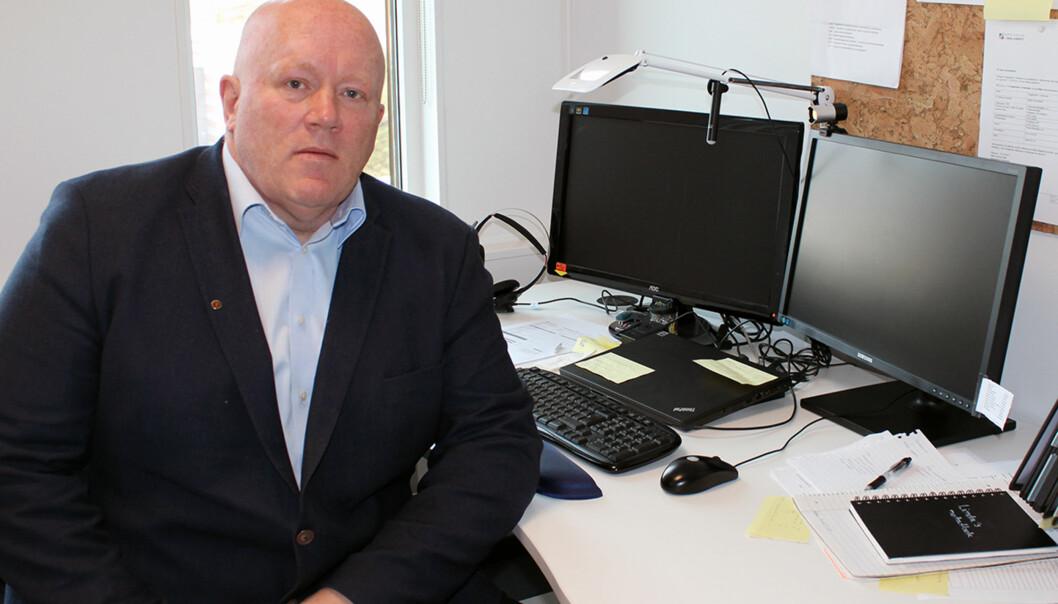 Dekan Peer Jacob Svenkerud ønsker seg rektorjobben ved Høgskolen i Innlandet, i likhet med fem andre.