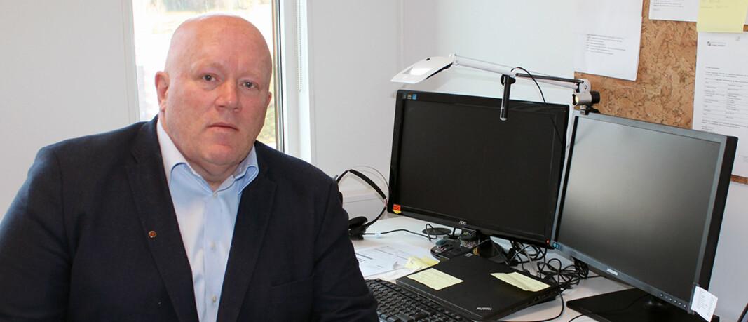 Dekan ved Handelshøgskolen Innlandet, Peer Jacob Svenkerud. Foto: Høgskolen i Innlandet