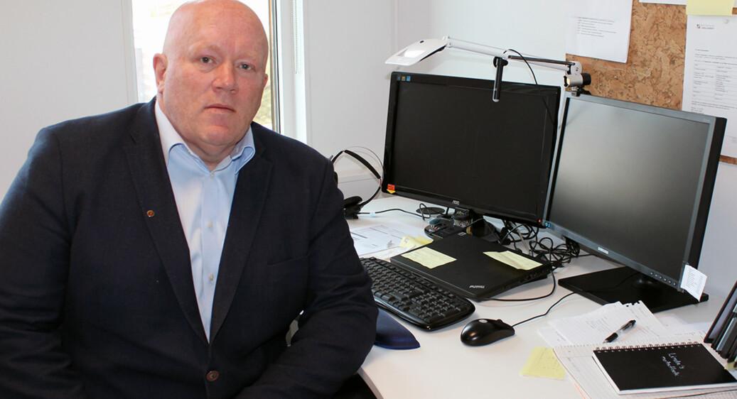 Dekan Avdeling for Økonomi- og ledelsesfag, Peer Jacob Svenkerud. Foto: Høgskolen i Innlandet