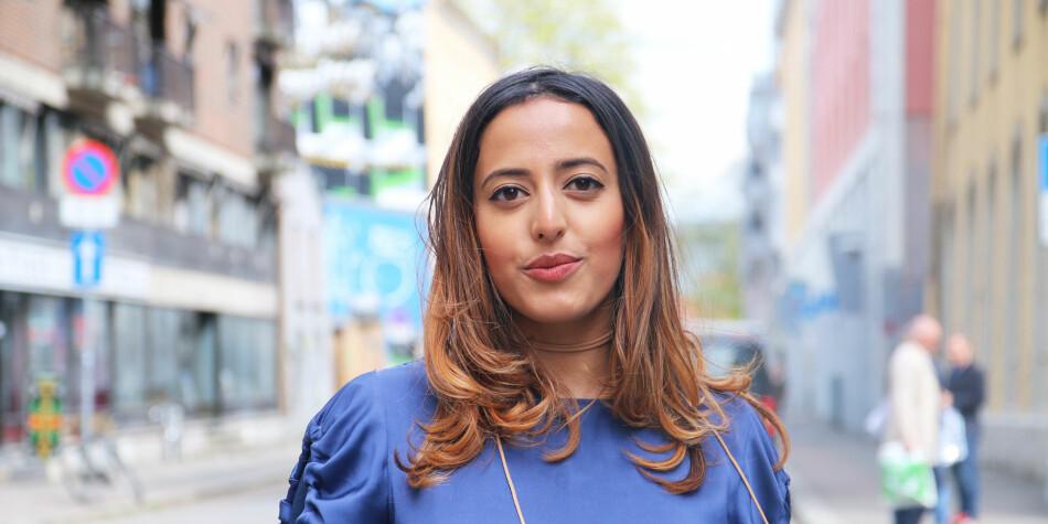 Forrige uke mottok Fasiha Hassan Studentenes Fredspris i Trondheim. Prisen tildeles henne i år for hennes ledende rolle i #FeesMustFall-kampanjen. <br>Foto: Sverre Ø. Eikill