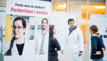 Oftere og raskere doktorgrad med forskerlinje