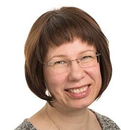 Professor i informatikk på NTNU, Katrin Franke. Foto: NTNU