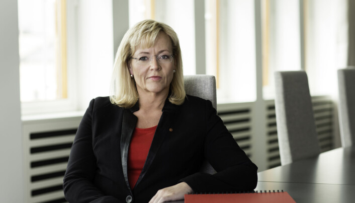Trude TInnlund, LO. Foto: Trond Isaksen/LO