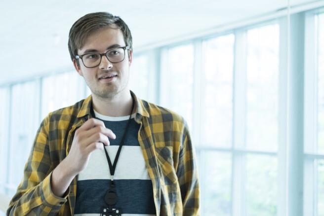 Christoffer Melbye er medisin student på UiO.