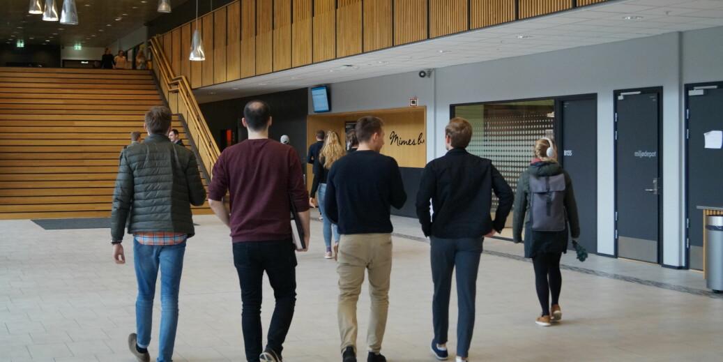 Høgskulen på Vestlandet har en av landets største lærerutdanninger. Foto: Brage Lie Jor