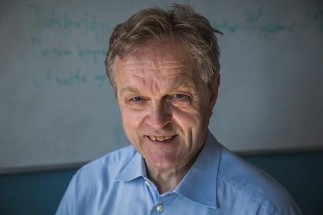 Professor Olav Torvund. Foto: Siri Ø. Eriksen