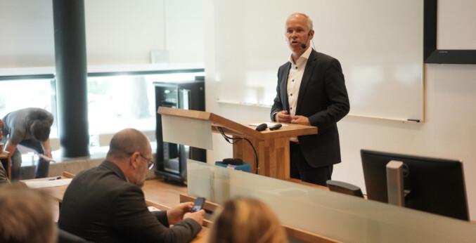 Statsråd i Kunnskapsdepartementet, Jan Tore Sanner (H).