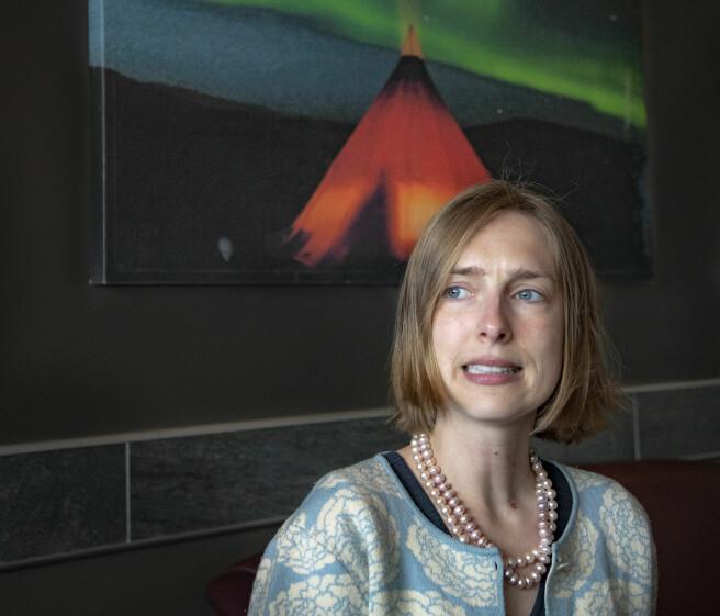 UH-sektoren har en lang vei å gå når det gjelder arbeidet mot seksuell trakassering, mener statsråd Iselin Nybø. Foto: Alf Ove Hansen