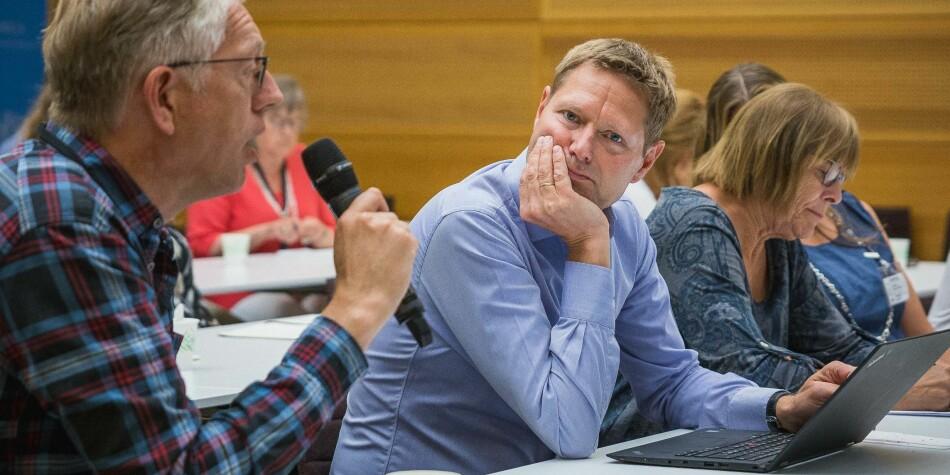 Sveinung Skule, direktør i NIFU, mener kritikken han kom med i går, står fast. Foto: Siri Øverland Eriksen