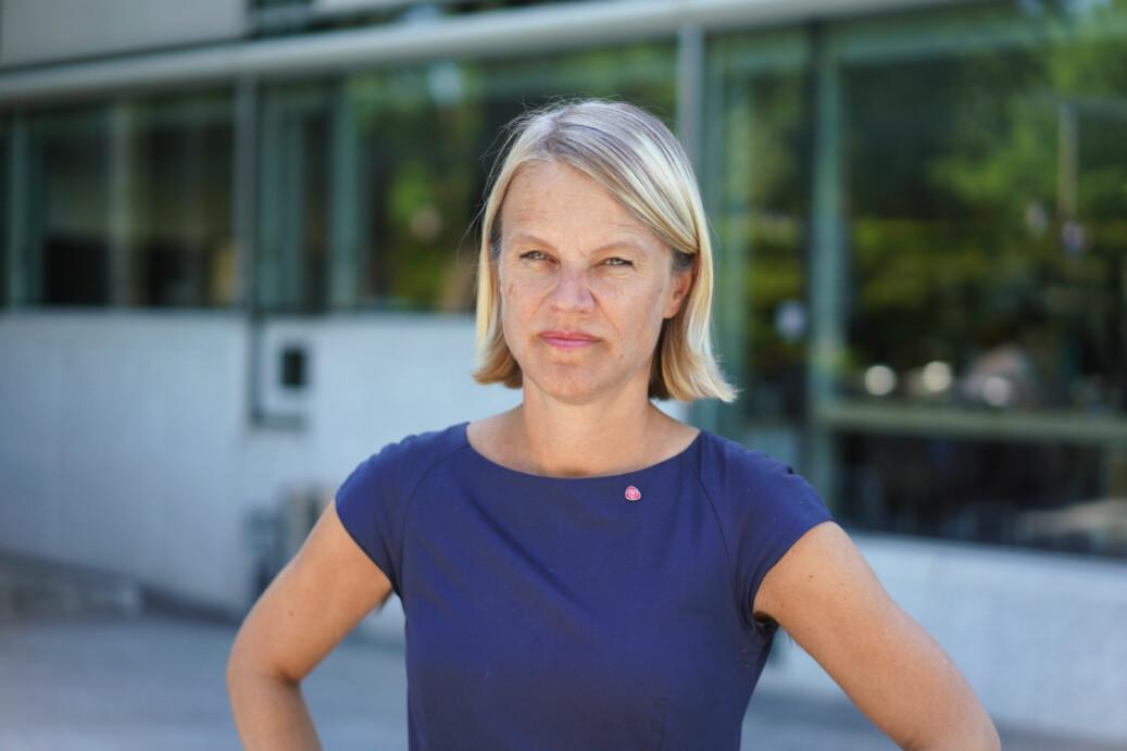 Nina Sandberg (Ap) mener det er på høy tid at regjeringen tar Ungarn-studentene på alvor. Foto: Ketil Blom Haugstulen