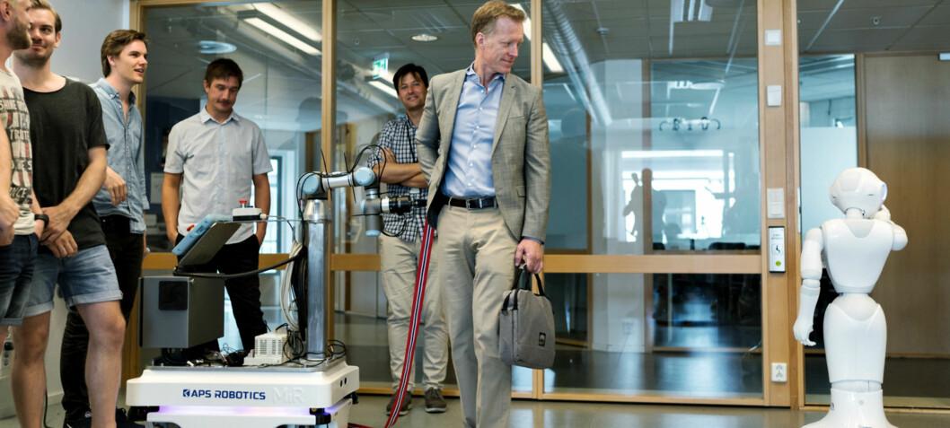 Åpnet robotifisert lab på OsloMet