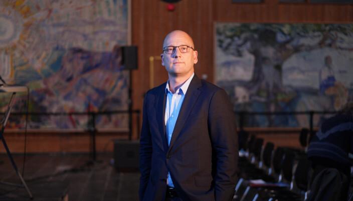 Steffen Handal, leder Utdanningsforbundet.