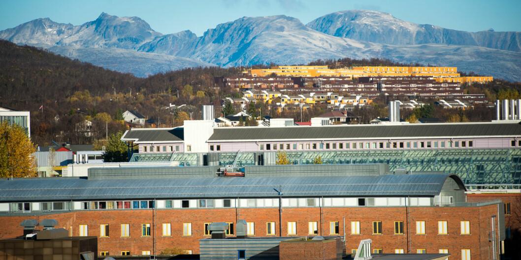 UiTs forfatterstudium er en del av Kunstfakultetet, som nå står i fare for å miste status som fakultet. Foto: Skjalg Bøhmer Vold
