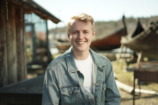 NSO-leder, Håbard Rangaard Mikalsen. Foto: Ketil Blom Haugstulen